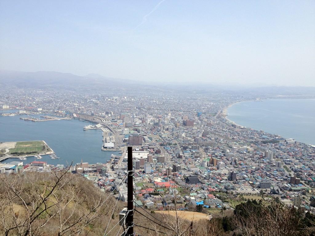 20120430 函館山より 市街地を望む